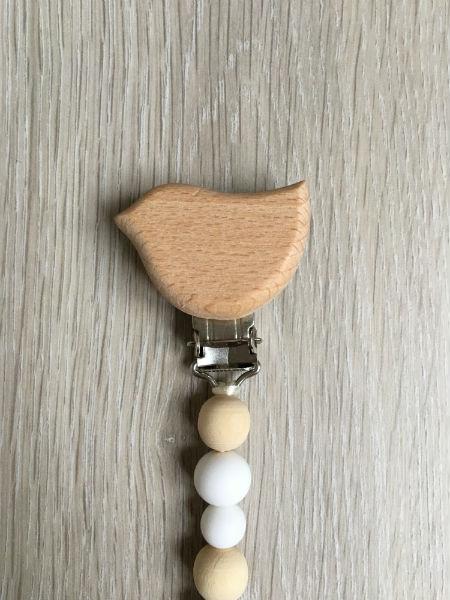 Attache-tetine-Nuria-blanc-detail-oiseau