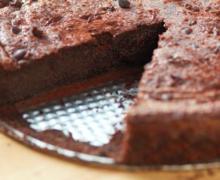 Recette gâteau au chocolat sans sucre, sans gluten, sans beurre ni lait