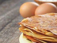 Pâte à crêpes sans gluten sans lactose sans sucre