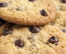 Cookies sans gluten sans lactose sans sucre